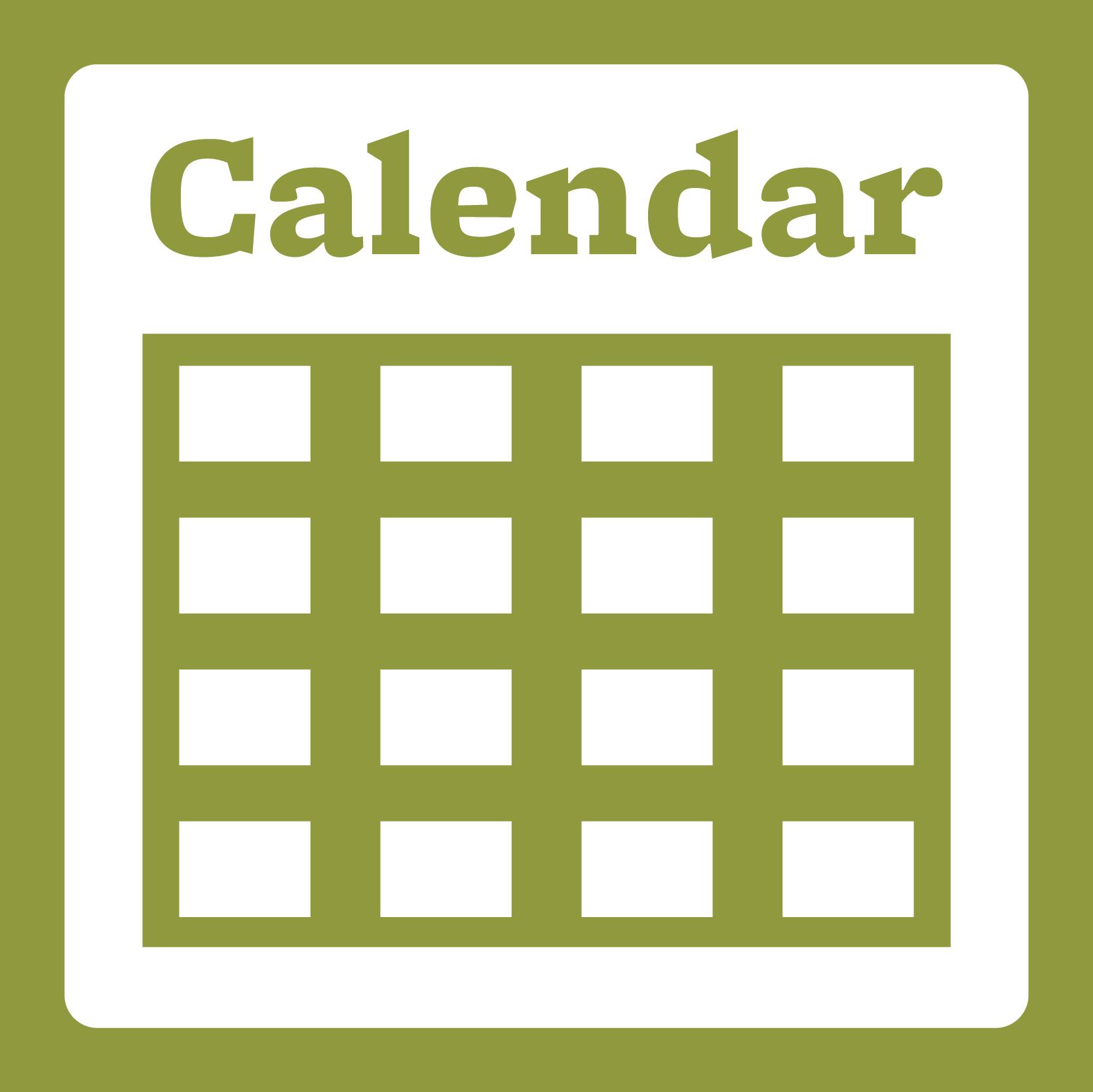 View our Calendar