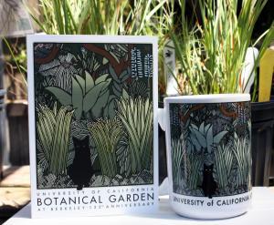 David Lance Goines Garden Artwork