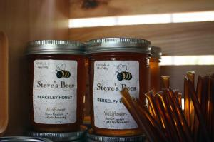 Local Berkeley Honey by Steve's Bees